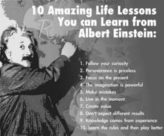 10 Amazing Life Lessons You can Learn from Albert Einstein | SuccessPoint