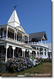 Victorian gingerbread houses in Oak Bluffs on Martha's Vineyard MA. Soon to visit!