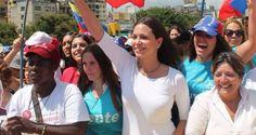 ¡ES HORA DE DERROTAR A LA DICTADURA! María Corina Machado: La A.N. tiene la obligación de cumplir su mandato y destituir a Maduro