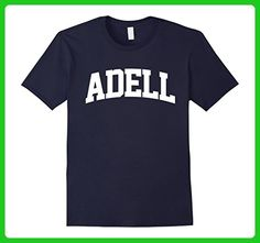 Mens ADELL Arch T-Shirt Athletic Sports Gym 3XL Navy - Sports shirts (*Amazon Partner-Link)