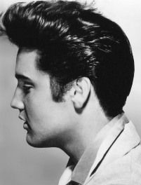 Elvis' Quiff, the Best Haircut of All-Time  http://elvisfansplus.blogspot.com/2013/02/the-elvis-quiff_19.html
