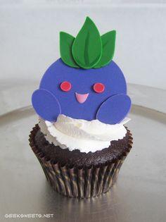 Oddish Cupcake, Pokémon
