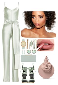 """""""Untitled #134"""" by sarrabaccouch on Polyvore featuring TIBI, Galvan, Ted Baker, Sonix and Kenneth Jay Lane"""