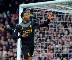 Sturridge grabbing a debut league goal for Liverpool. It wasn't enough to avoid defeat at Old Trafford