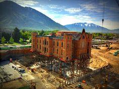 Ingegneria e dintorni: L'incredibile consolidamento del Tabernacolo di Provo, Utah