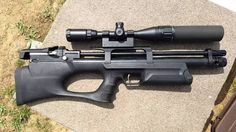 Kral Puncher Breaker BullPup NEW For 2016 Kral (BullPup) Puncher Breaker .22 Tactical Stock  Comes with two automatic index magazines   Bipod & Picatiny adapter  Trigger Safety  Soft rubber pad stock  22mm Picatiny Rail