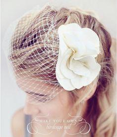 A wedding accessory you must make! #DIY #wedding #jewelry