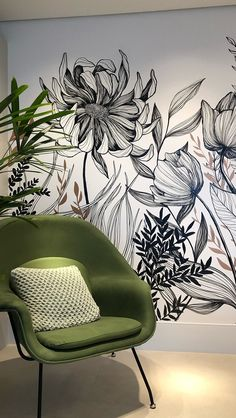 Office Mural, Office Decor, Mural Art, Wall Murals, Home Wall Decor, Room Decor, Decoration, Wall Design, Interior And Exterior