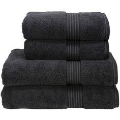 Christy Supreme Hygro Towel - Black - Bath sheet