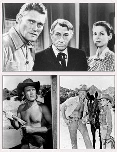 The Rifleman....Chuck Connors as Lucas McCain, Paul Fix as Marshal Micah Torrance, Joan Taylor (wife of Leonard Freeman, creator of the original Hawaii Five-O) as Milly Scott, and Johnny Crawford as Mark McCain.