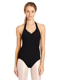 94d64b269822 Amazon.com: Capezio Women's Princess Halter Leotard: Clothing Halter Neck,  V Neck