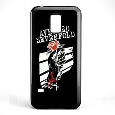Avenged Sevenfold Rose TATUM-1192 Samsung Phonecase Cover Samsung Galaxy S3 Mini Galaxy S4 Mini Galaxy S5 Mini