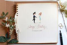 "Libro de firmas para Boda ""True Love"" Guest Books, Scrap, Wedding Ideas, Album, Love, Mini, Frame, Signature Book, Wedding Pictures"