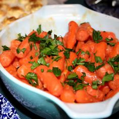 """Apricot Glazed Carrots 