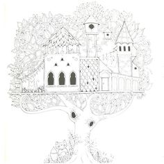 Enchanted Forest Coloring Book by Johanna Basford   Activity Book