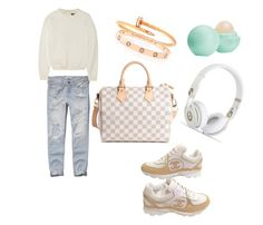 Untitled #25 by nelly-bagdasaryan on Polyvore featuring polyvore, fashion, style, Alexander Wang, Abercrombie & Fitch, Chanel, Louis Vuitton, Cartier and Eos