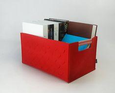 Felt Storage Bin Organize Case Box Container Basket Living Room Felt Organizing Bag Large Size Custom Made  E986
