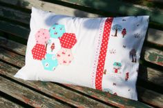 Cushion cover - Tasha Noel fabric (Little Red Riding Hood)
