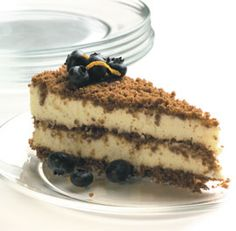 Ginger-Mascarpone Icebox Cake--Delicious on its own, this cake is also ...