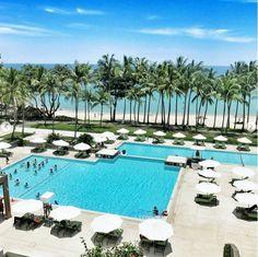 Enjoy the renovated pool at Bintan Island @klessislee