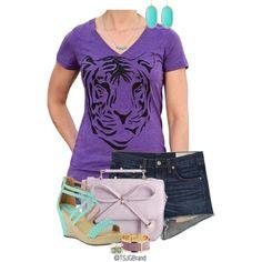 """""""TSJG Allie Tee"""" by tsjgbrand on Polyvore #fashion #womensfashion #casual #tees #tshirt #ootd #outfits"""