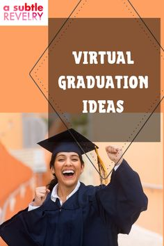 Virtual graduation ideas to celebrate the class of 2020. Virtual graduation celebrations are so important right now, graduating is a time of recognition for all the hard work you've put into studying. It's an important tradition that most of us love to share with our closest friends or family. Sharing you on this pin ways to celebrate your virtual graduation with your loved ones! #virtualgraduation #graduation #graduationcelebration #virtual