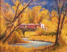"Colorado gold-""Adobe Bridge"" (11x14) by Dix Baines is available through The McLarry Fine Art Gallery http://mclarryfineart.com/artists/dix-baines (scheduled via http://www.tailwindapp.com?utm_source=pinterest&utm_medium=twpin&utm_content=post57233550&utm_campaign=scheduler_attribution)"
