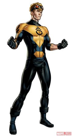 Cannonball (X-Men), Marvel: Avengers Alliance Marvel Dc Comics, Marvel Avengers Alliance, Marvel Now, Marvel Comic Universe, Marvel Heroes, Superhero Images, Best Superhero, Superhero Characters, Superhero Design