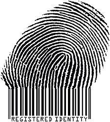 Illustration de stock de Registered Identity Fingerprint Becoming Barcode Raster 1257248 Barcode Art, Barcode Design, Logo Design, Graphic Design, Avant Scene, Identity Theft Protection, Poesia Visual, Barcode Labels, Bar Image