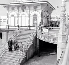 West Pier, Brighton in the 1960s, the pier was built by Eugenius Birch in 1866 and closed in 1975