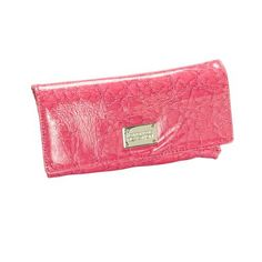 Kenneth Cole Reaction Womens Magnetic Closure Clutch Bag (KC-187829-Grapefruit Pink) Kenneth Cole REACTION. $29.99. Faux Patent Leather. Large interior coin purse attached. Measures 9(L) x 4.25(H) x 1.5(W). 4 credit card holders and 2 main compartments. Magnetic closure. Faux Leather