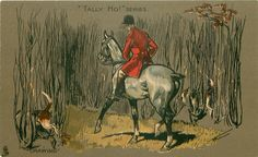 """""""TALLY HO!"""" SERIES in the hunting field"""
