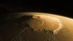 OLYMPUS MONS, A LARGE SHIELD VOLCANO ON MARS Lowell Observatory, Shield Volcano, Astronomical Events, Neutron Star, Beyond The Horizon, State Of Arizona, Our Solar System, Hawaiian Islands