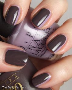 Nail Art: The Sideways French Manicure | The Daily Varnish