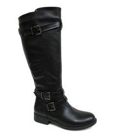 Love this Black Aston Boot on #zulily! #zulilyfinds