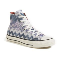 Women's Converse x Missoni Chuck Taylor All Star High Top Sneaker ($105) found on Polyvore