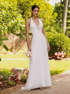 Second Marriage Wedding Dresses Beach