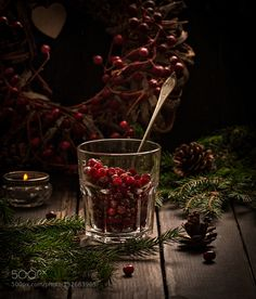 Pic: Cranberry in a glass