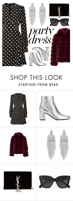 """""""Untitled #247"""" by klaranorgaard ❤ liked on Polyvore featuring Marc Jacobs, Yves Saint Laurent and CÉLINE"""