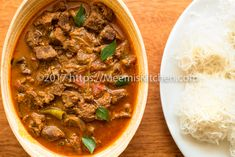 Nadan Beef Curry / Spicy Kerala Style Beef Curry is so popular in Kerala, also known as Beef Shappu Curry which is deliciously spicy with tempting flavors!!
