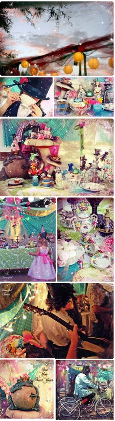 Alice in Wonderland Themed