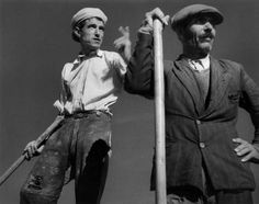 Two peasants in Sardinia (Italy) Werner Bischof, 1950