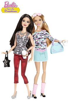 The Barbie™ Life in the Dreamhouse Raquelle® and Summer® 2-Pack unites two of the boldest characters from the Barbie web series.
