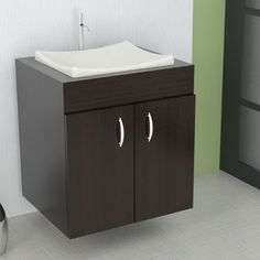 "Inval Inval 24"" Wall Mounted Single Vanity Set"
