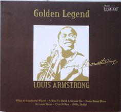 LOUIS ARMSTRONG Golden Legend Greatest Hits CD NEW HDCD Mastering Lyrics Booklet