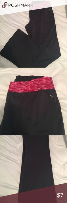 Gray & Pink Workout Pants Excellent Condition. * Spring Cleaning* (Note: NOT Nike brand, only listed that way for marketing and sharing purposes) Nike Pants Track Pants & Joggers
