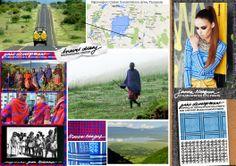Travel Diary: Ngorongoro Crater. The Sanna Naapuri Autumn/Winter'12 Keffiyeh Print is inspired by tribal Masai Kangas and Arabic Keffiyehs. #SNTravelDiary