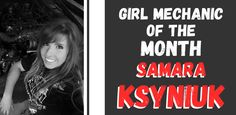 Featured Girl Mechanic of the Month: Samara Ksyniuk ( Architectural Technologist, New Engine, Samara, New Girl, Dream Cars, Real Life, Things To Think About, Auto Mechanic, Youtube