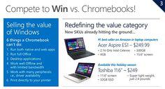 DailyTech - Netbooks Part Deux? Microsoft to Pit $199 Windows 8.1 Notebooks Against Chromebooks