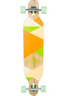 TITUS Mosaic Bamboo DT Longboard-komplett kaufen bei titus.de
